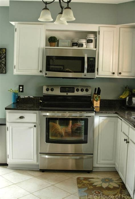 kitchen cabinets with microwave shelf 1000 ideas about microwave shelf on pinterest microwave