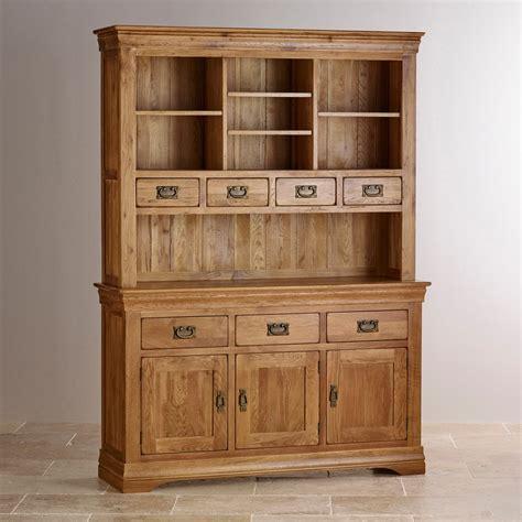 Oak Dresser by Farmhouse Large Dresser Solid Oak Oak Furniture