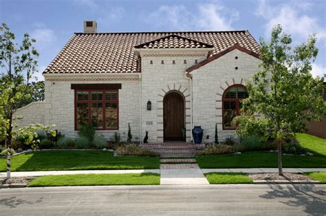 spanish house dallas spanish colonial luxury patio home mediterranean exterior dallas by holmes