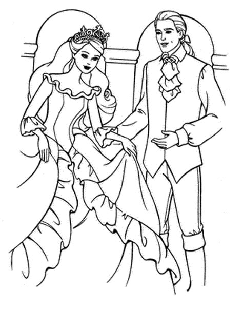 coloring pages barbie wedding coloring pages printable