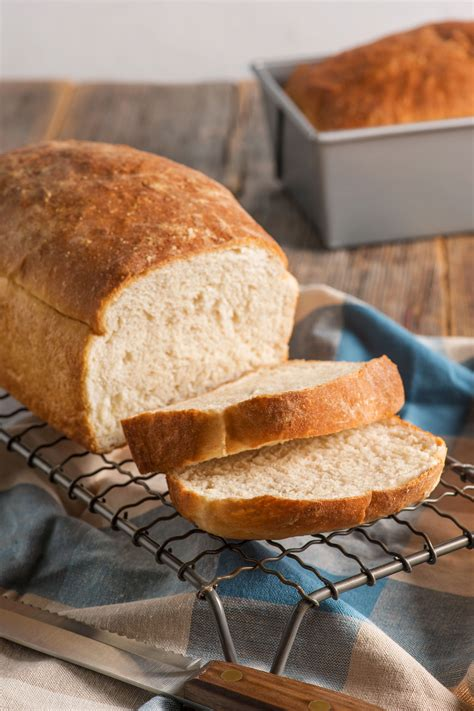 Handmade White Bread - fluffy white bread yeast