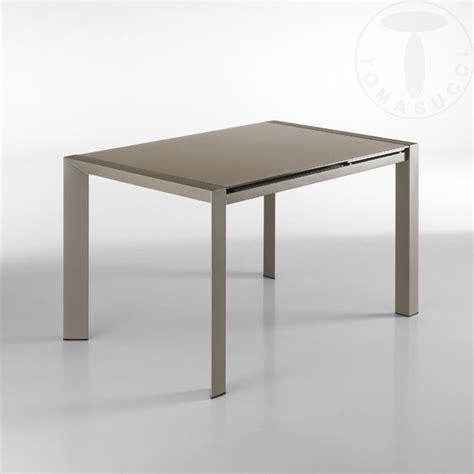 tavolo allungabile cucina tavolo con piano in vetro moderno allungabile per cucina o