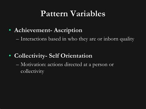 pattern between variables ppt talcott parsons powerpoint presentation id 1331976