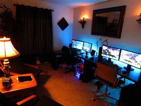 battle station bedroom setup gaming 46 best battle stations images on desk setup