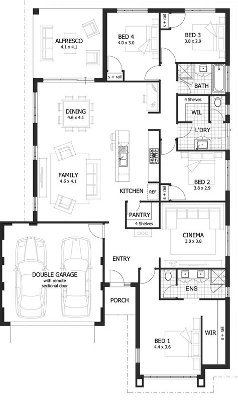 sink floor plan redford floor plan new home designs pinterest family