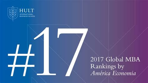 Hult Mba Ranking Us News by Hult Ranked 17th Best Mba In The World By Am 233 Rica Economia