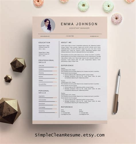 Creative Resume Template Creative Resume Design Resume Creative Resume Template Word