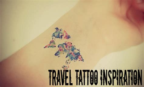 travel tattoo inspiration