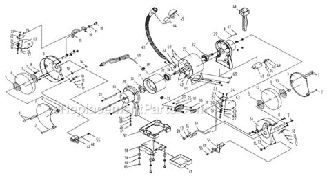 ryobi bench grinder parts ryobi bgh825 parts list and diagram ereplacementparts com