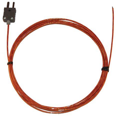Thermocouple 10meter digi sense type j kapton insulated thermocouple probe 24