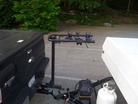 Tent Trailer Bike Rack by Tent Trailer Rentals Vancouver Bc Lower Mainland Fraser