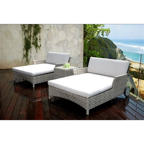 daybed lounger chaise skyline design cielo rattan chaise daybed lounger