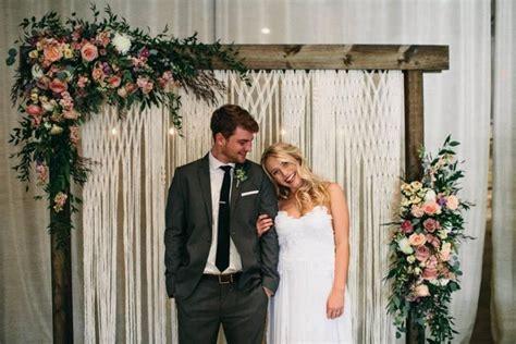 Wedding Backdrop Measurements by Wedding Backdrop Boho Wedding Decor Bohemian Macrame