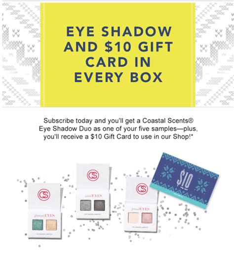 Free Gift Card Coupons - birchbox coupon free 10 gift card with all subscriptions 15 in points with gift