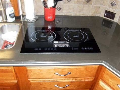 Two Burner Induction Cooktop True Induction S2f3 Energy Efficient Double Burner Counter