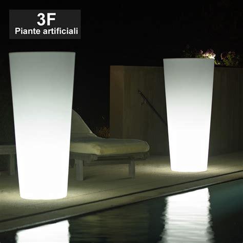 vasi luminosi economici vaso luminoso ilie cm 75 3f piante artificiali