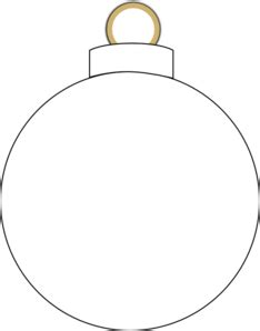 christmas ornament clipart black and white clipart panda