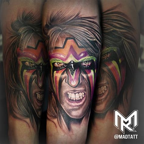ultimate warrior tattoo the of maddalena ruggiero