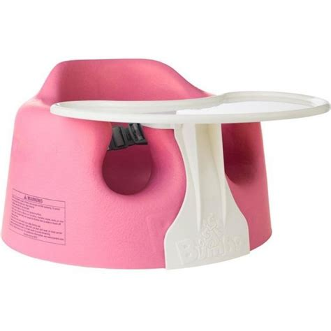 bumbo seat and tray pink bumbo floor seat play tray combo set colour pink
