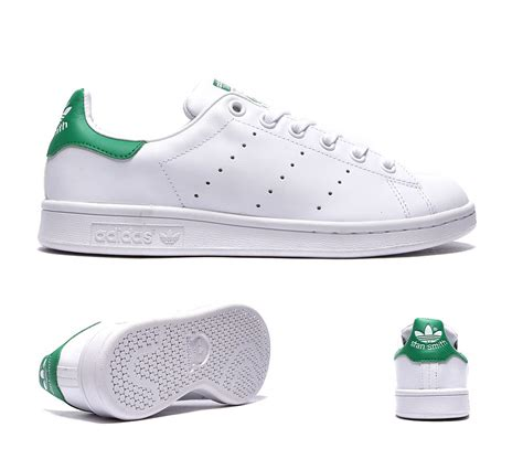 Adidas Stan Smith Runing Whiteruning Whitefairway Original adidas originals junior stan smith trainers white fairway s61930