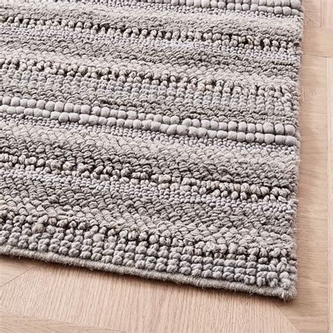 sweater rug stitched mix sweater rug platinum west elm
