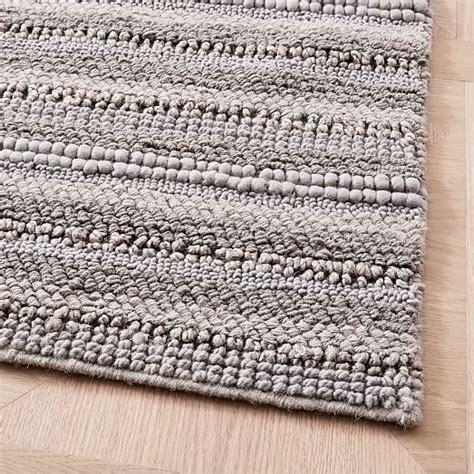 west elm sweater rug stitched mix sweater rug platinum west elm