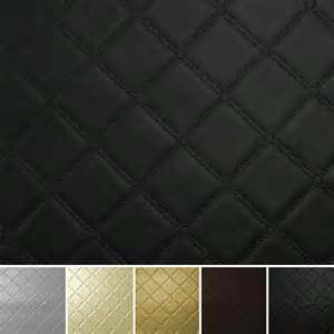 stitch embossed vinyl faux leather car upholstery