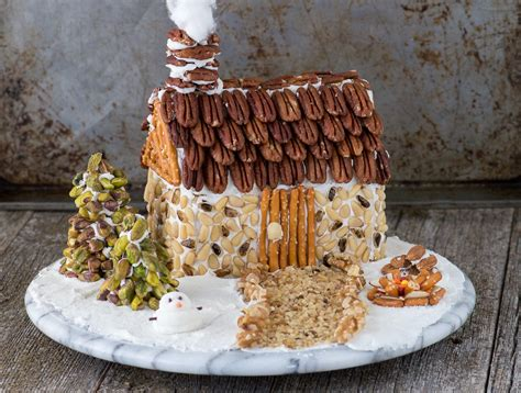 How To Make A Gingerbread House Out Of Paper - nutty gingerbread house the year