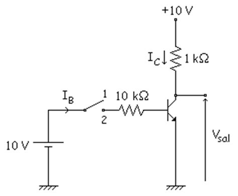 transistor pnp como interruptor el transistor en conmutaci 243 n