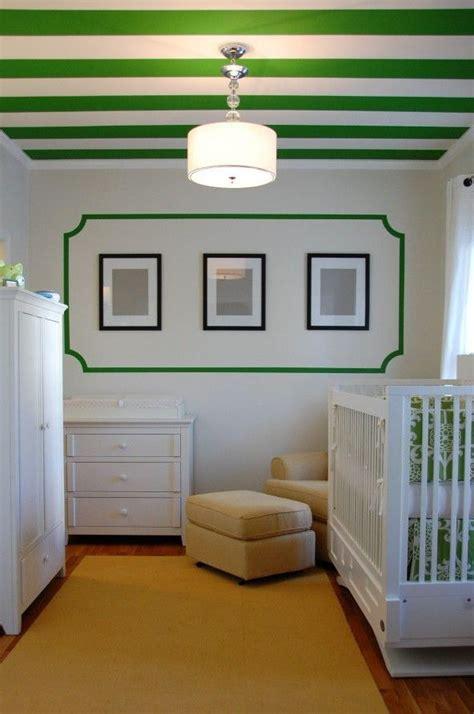 Plafond Vert by Plafond 233 Vert Et Blanc Green And White Striped