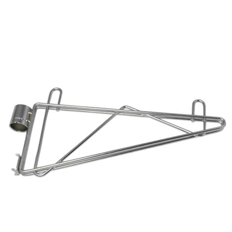 adjustable post mounted shelf brackets
