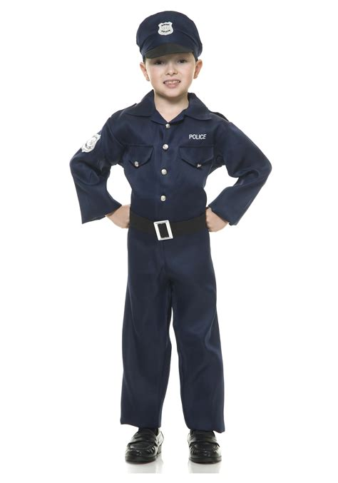 officer boys costume