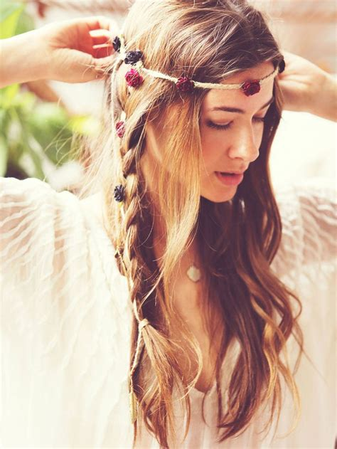 hippie hairstyles for long hair best 25 hippie headband hairstyles ideas on pinterest