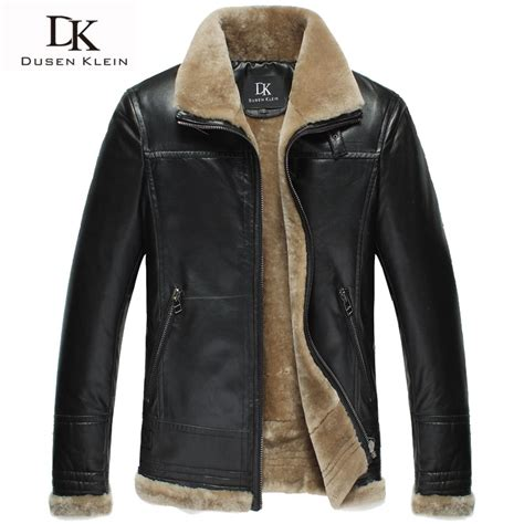 Leather Jaket Exclusive Leather Hoodie brand winter leather jacket luxury wool insdie genuine sheepskin coats black brown designer