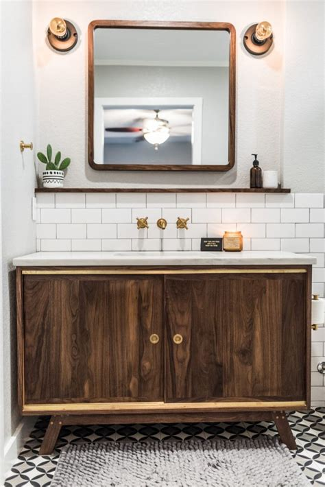 Midcentury Modern Bathroom by Midcentury Modern Bathroom Before After Irwin Construction