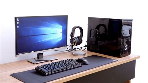 pc gaming setups complete gaming pc setup under 700 youtube