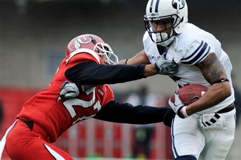 Byu Mba 2nd Block Courses by Utah Blocks Last Second Field Goal Attempt Beats Byu 17
