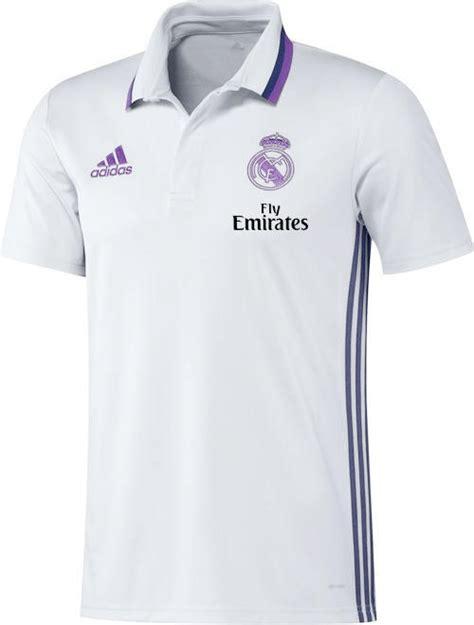 Polo Shirt Adidas 17 fly emirates real madrid adidas polo shirt white sleeves 2016 17 ebay