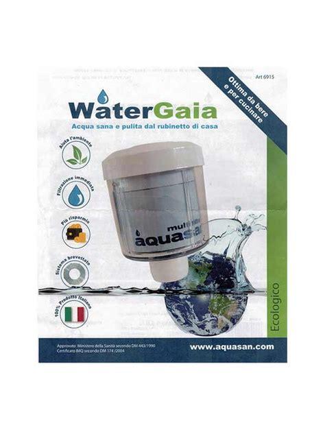 filtro per acqua rubinetto aquasan watergaia filtro acqua rubinetto
