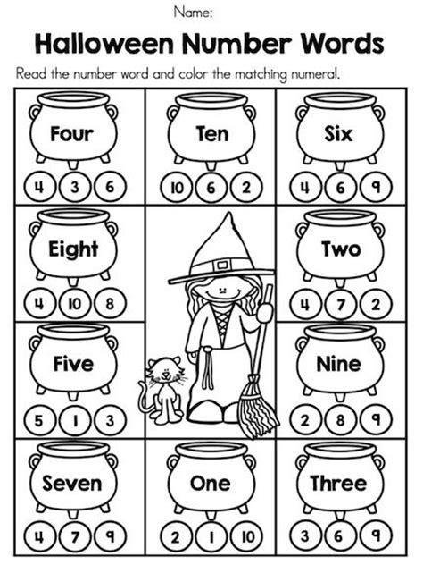 math student and halloween on pinterest math worksheets for jr kg students kindergarten