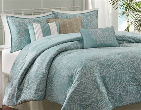 carmel by the sea blue comforter set king size