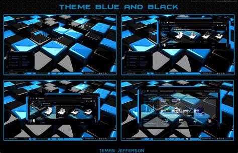 new themes windows 7 very nice new theme para windows 7 blue and black by temasjefferson