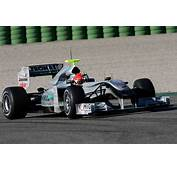 Mercedes Has Unveiled Their MGP W01 F1 Racer For The 2010