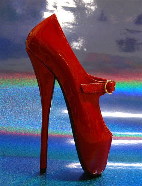 extremely high heels shoes on david lynch christian louboutin and