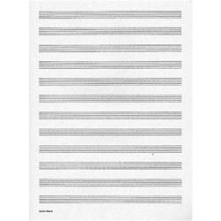 Music Writing Paper Edition Peters Music Writing Book Manuscript Paper