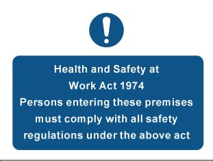 health and safety at work act 1974 section 8 labelsource general mandatory safety signs