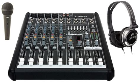 Mixer Monitor Audio 8 Chanel mackie profx8 pro audio dj table top usb 8 channel effects