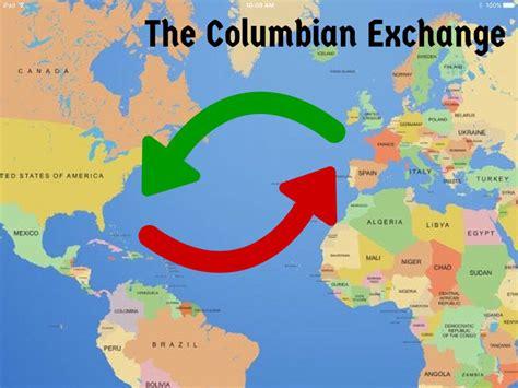 columbian exchange map quelques liens utiles
