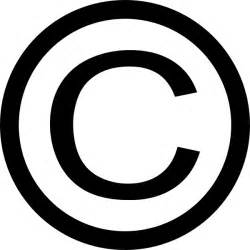 thin copyright symbol clip art free vector in open office