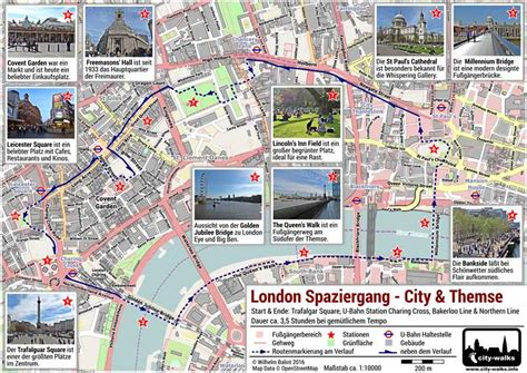 Garden City Eyecare by Spaziergang City Themse Tour Pdf Plan